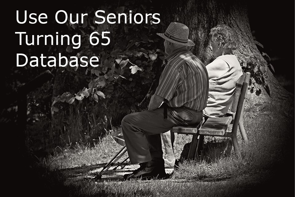 use our seniors turning 65 database